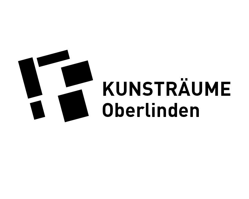 """Logo- und Plakatgestaltung für die Ausstellungsreihe """"Kunsträume Oberlinden"""" in denen die Ausstellungsreihe """"Langener Salon"""" stattfindet"""